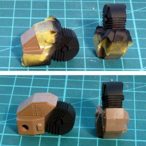 Tamiya-Tape schützt vor Farbe
